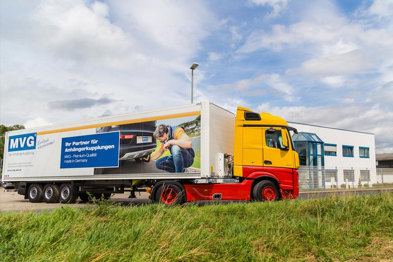 Our logistics and service management at  – MVG – The Towbar