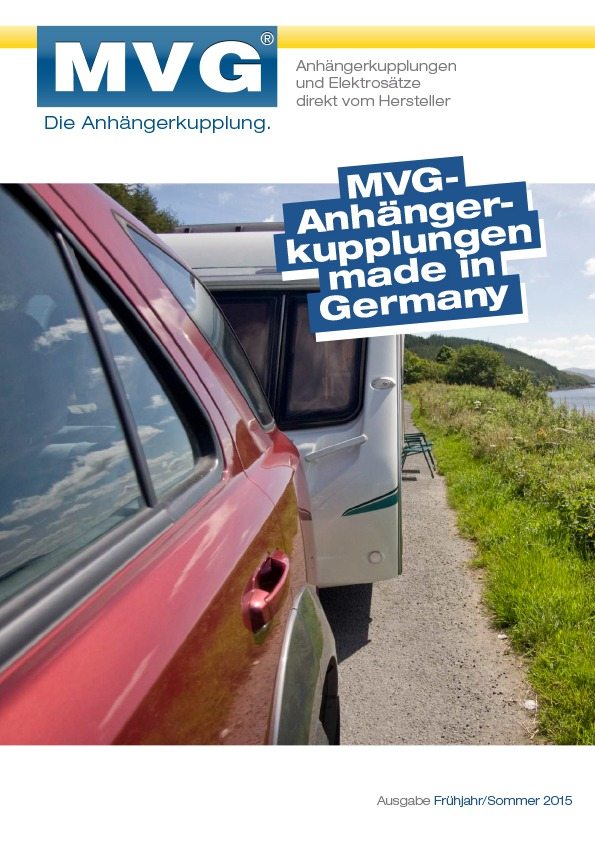 Our customer magazine 2015 at MVG – The Towbar